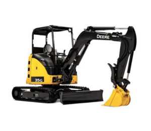 Excavator rentals in Vancouver BC, the Lower Mainland and the Fraser Valley