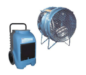 Fan and dehumidifier rentals in Vancouver BC, the Lower Mainland and the Fraser Valley