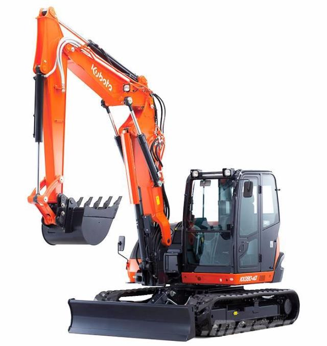 Where to rent Excavator - Kubota KX080 in Surrey BC, Burnaby BC, Vancouver BC, Pitt Meadows BC, Maple Ridge BC, Langley BC, Lower Mainland Canada