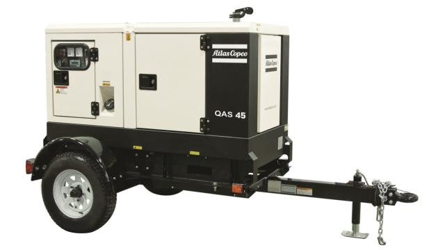Where to find Towable Atlas Copco 45KVA Generator in Vancouver