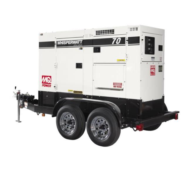 Where to find Towable Multiquip 70KVA Generator in Vancouver
