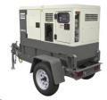 Rental store for Towable Atlas Copco Generator 25KVA in Vancouver BC