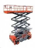 Rental store for Rough Terrain Scissor Lift 50 in Vancouver BC